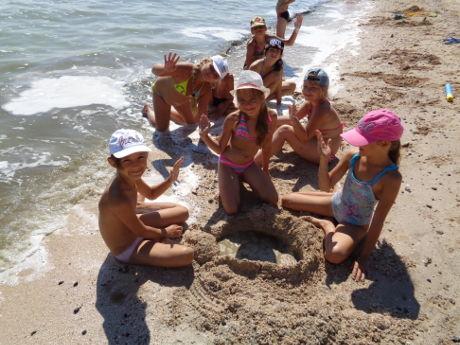 Замки на песке
