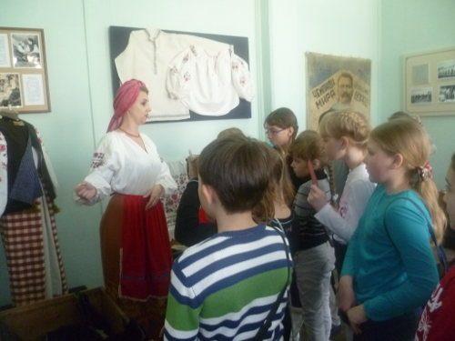 Костюмированное представление  с участием детей в Ейском историко-краеведческом музее имени В.В. Самсоненко